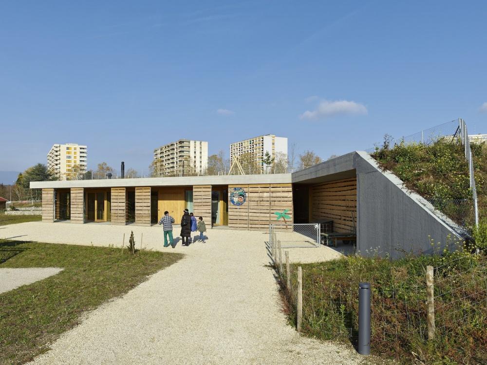 Clr architectes jardin robinson for Architecte jardin