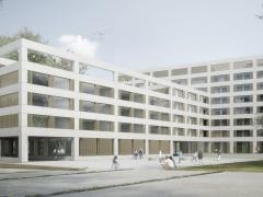 Ecoquartier des Plaines-du-Loup - Pièce urbaine D